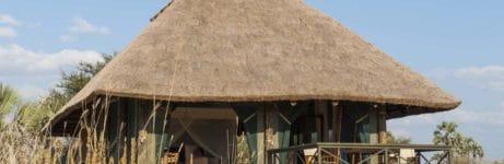 Maramboi Tented Camp Tent View