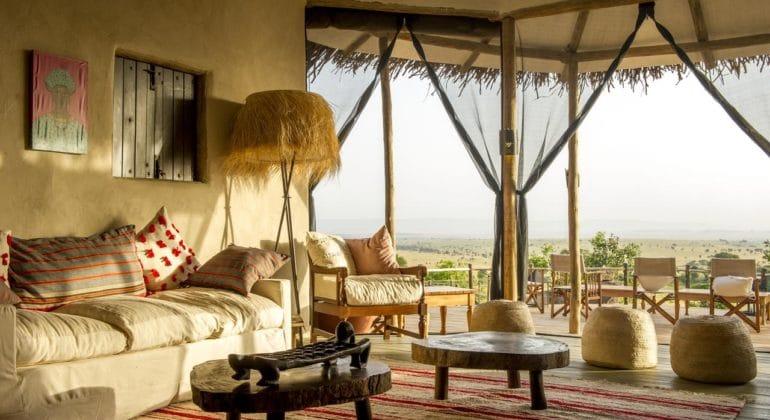 Mkombe's House Lamai Verandah
