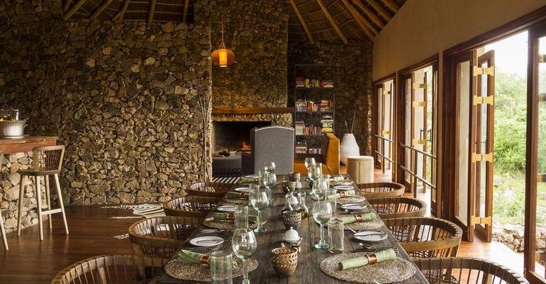 Mwiba Lodge Dining