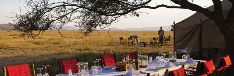 Nyasirori Tented Camp Outdoor Dining