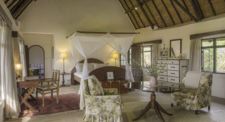 Ololo Safari Lodge Bedroom