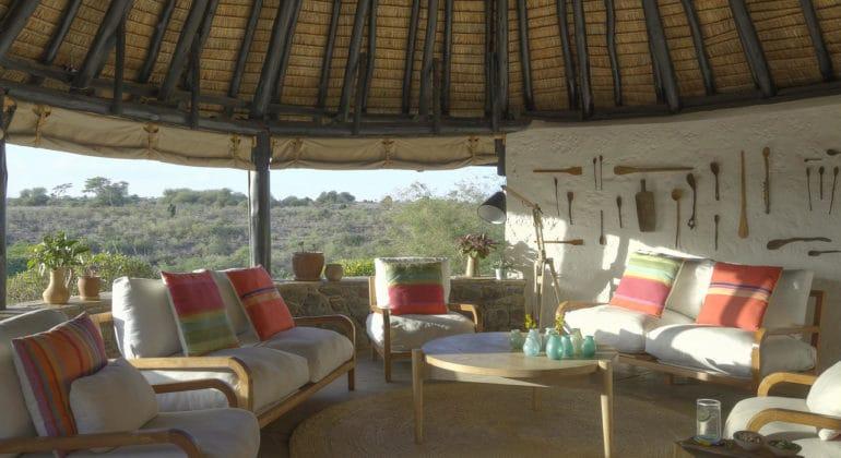 Ololo Safari Lodge Lounge