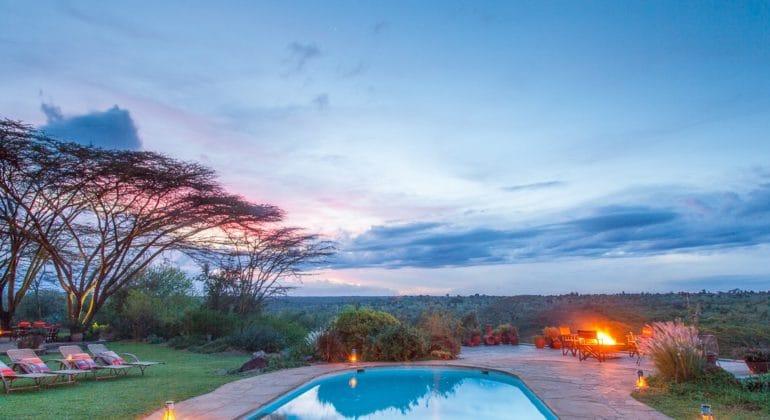 Ololo Safari Lodge Poolside