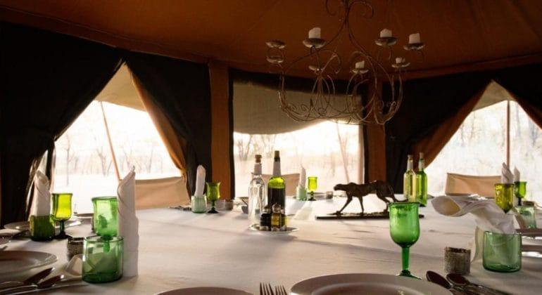 Serengeti Mobile Lamai Dining