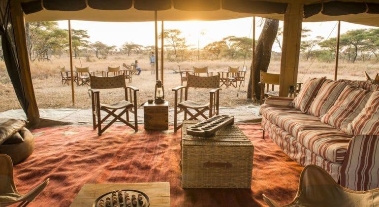 Serengeti Safari Camp Main Area