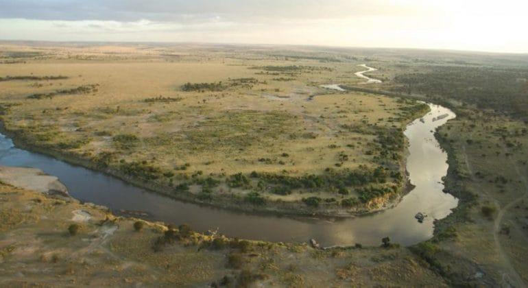 Serian's Serengeti North Aerial View