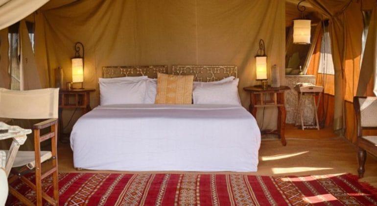 Serian's Serengeti North Tent Interior