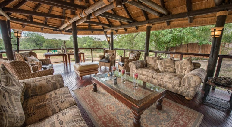 Shumbalala Game Lodge Lounge