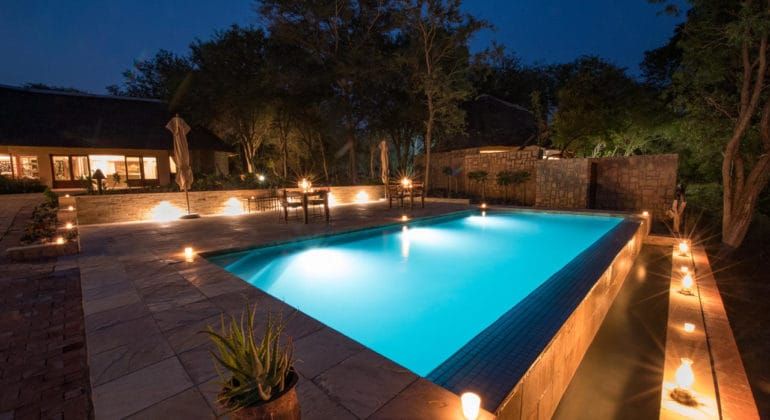 Shumbalala Game Lodge Pool