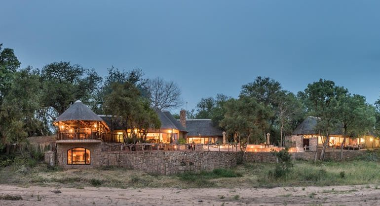 Shumbalala Game Lodge View