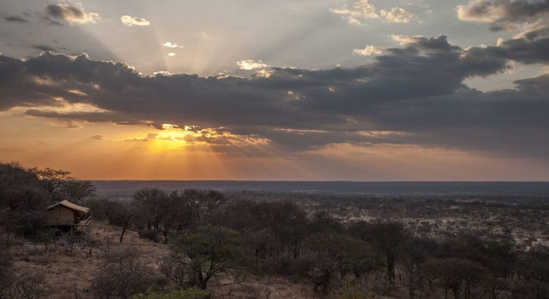Subeti Tented Camp View From Top