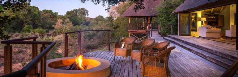 The River Lodge Deck