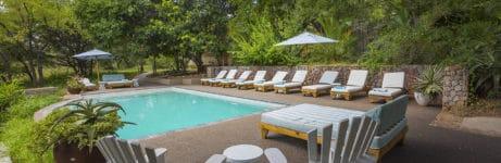 Thornybush Game Lodge Pool