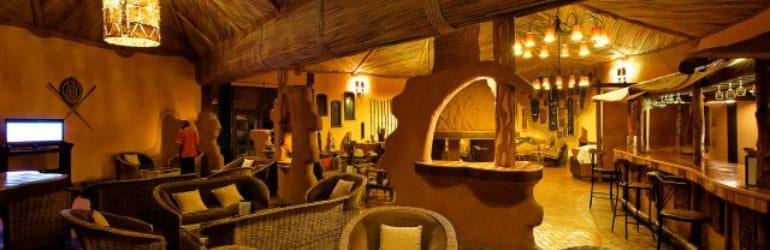 Amboseli Sopa Lodge Lounge