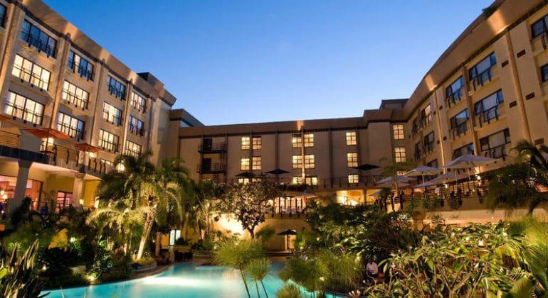 Kigali Serena Hotel View