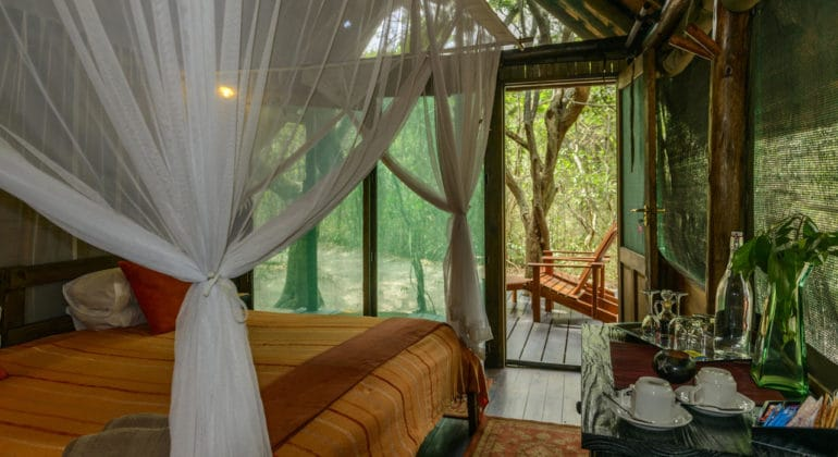 Kosi Forest Lodge Bedroom