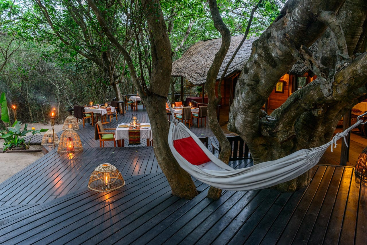 Kosi Forest Lodge Deck