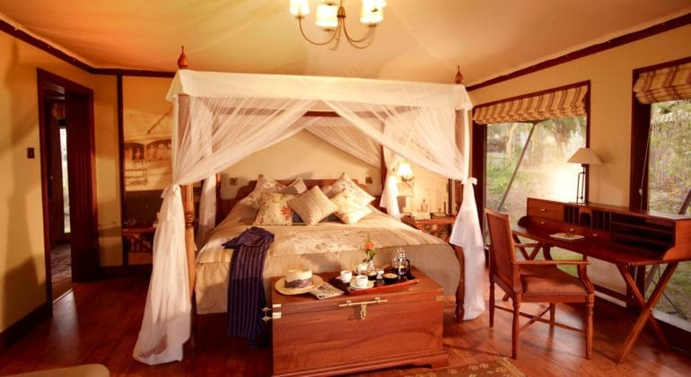 Lake Elmenteita Serena Camp Bedroom