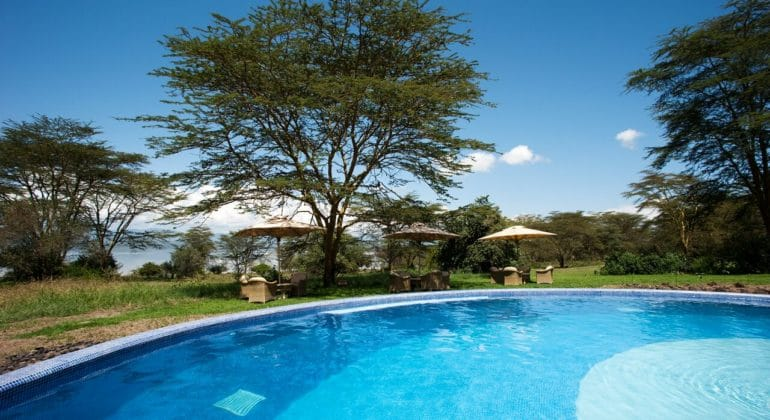 Lake Elmenteita Serena Camp Pool