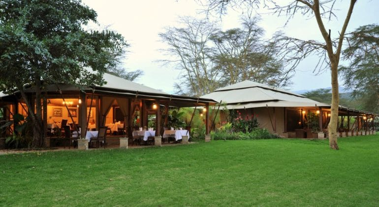 Lake Elmenteita Serena Camp View
