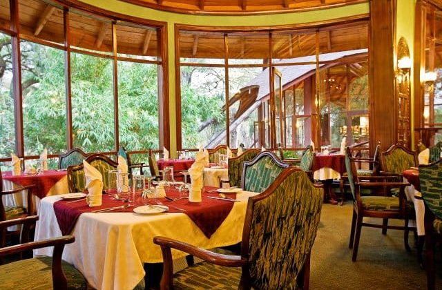 Lake Naivasha Sopa Lodge Dining