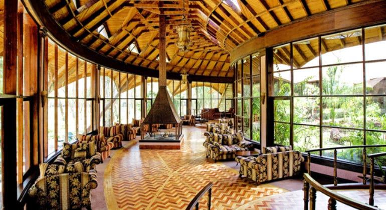 Lake Naivasha Sopa Lodge Lounge