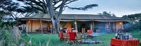 Lemala Ngorongoro Tented Camp Tent View