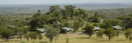 Mbuzi Mawe Serena Camp Aerial View