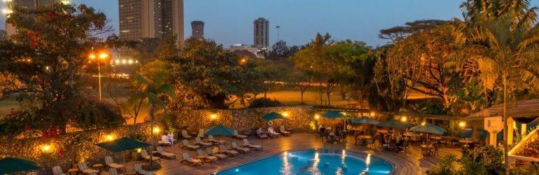 Nairobi Serena Hotel Poolside