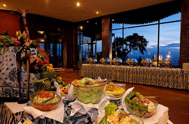 Ngorongoro Sopa Lodge Buffet
