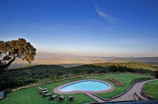 Ngorongoro Sopa Lodge View Of Pool