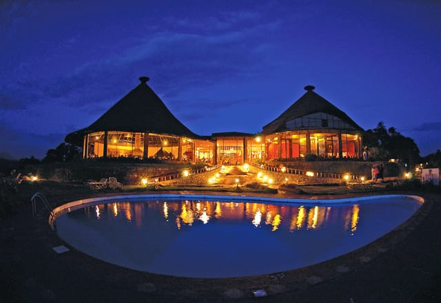 Ngorongoro Sopa Lodge View