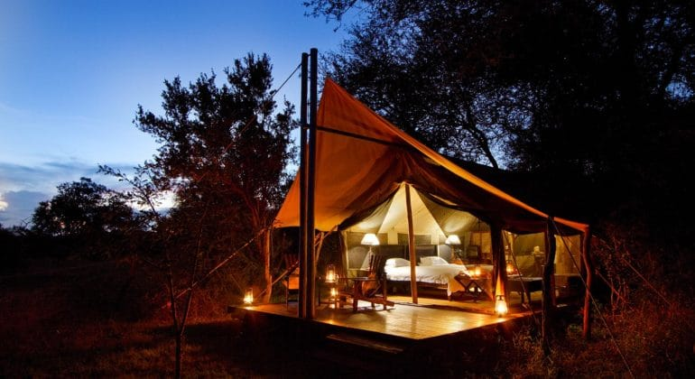 Rhino Walking Safari Tent