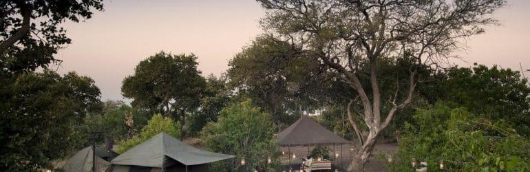 Savute Camp Tent View