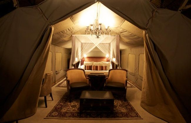 Selous Serena Camp Tent View