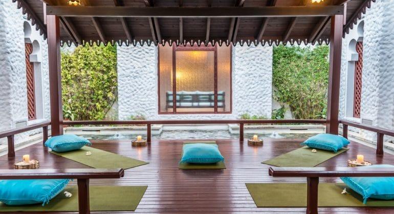 Serena Beach Resort And Spa Yoga Room