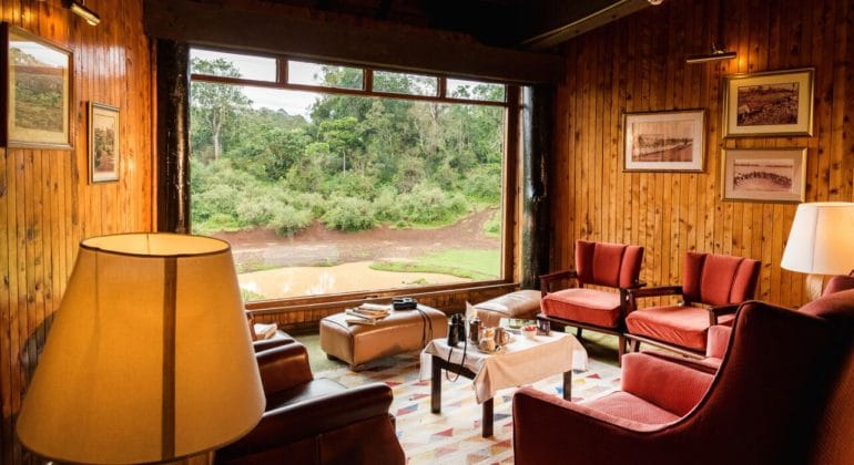Serena Mountain Lodge Lounge