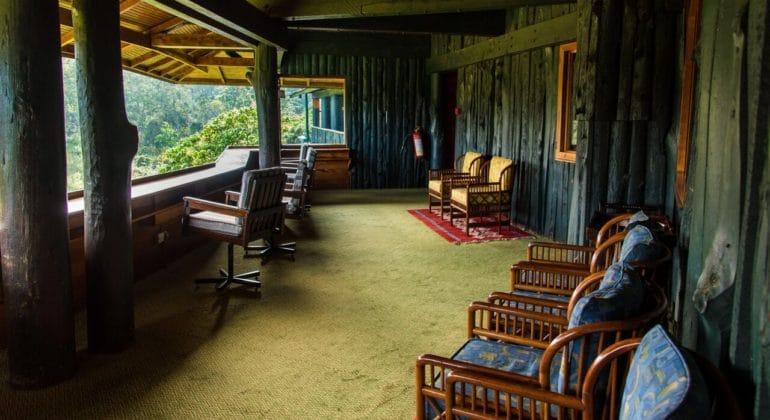 Serena Mountain Lodge Wildlife Viewing Deck
