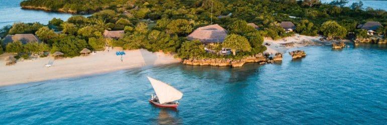 Azura Quilalea Private Island Aerial View 1