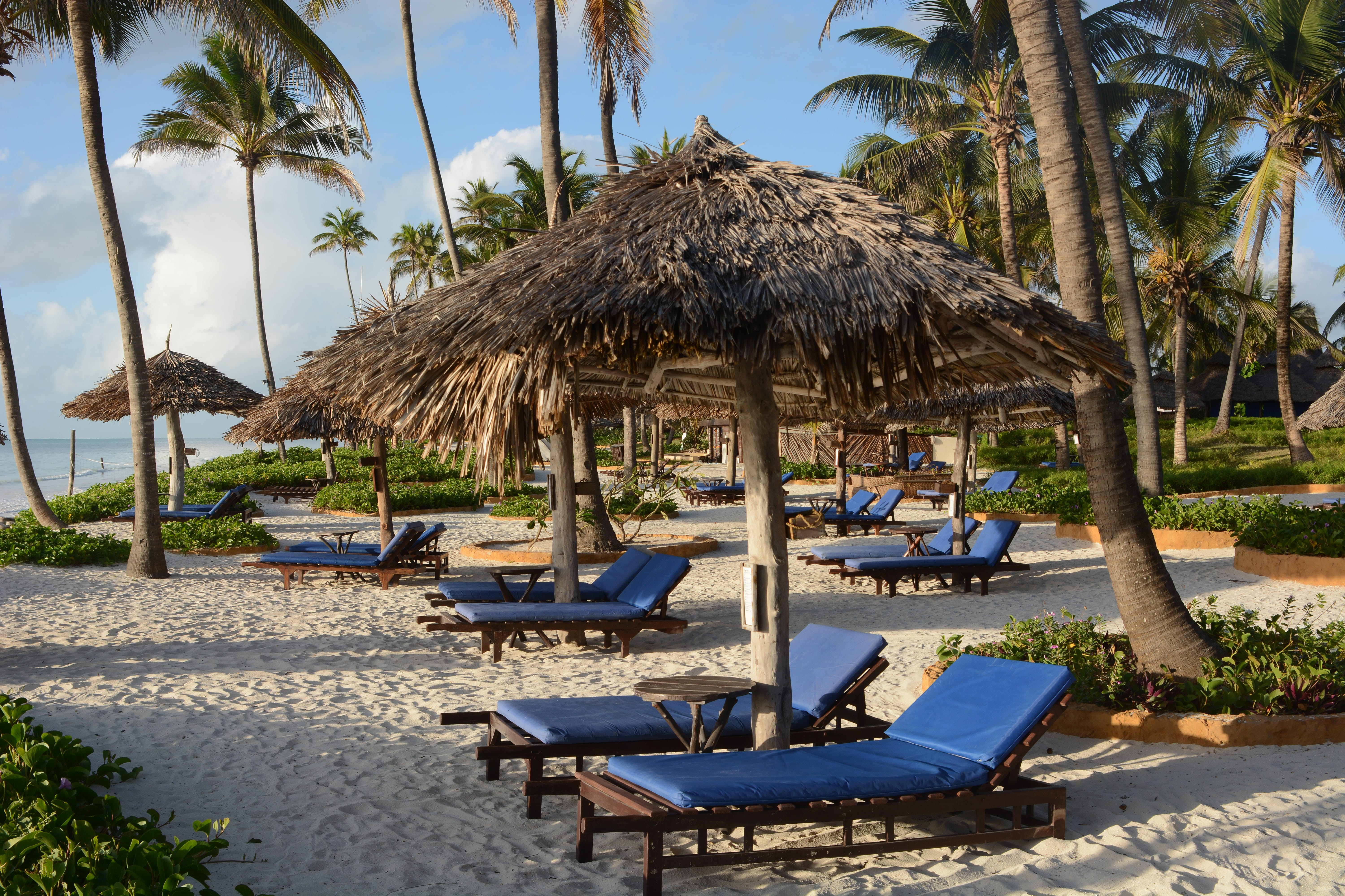 Breezes Beach Club And Spa Outdoor Sitting