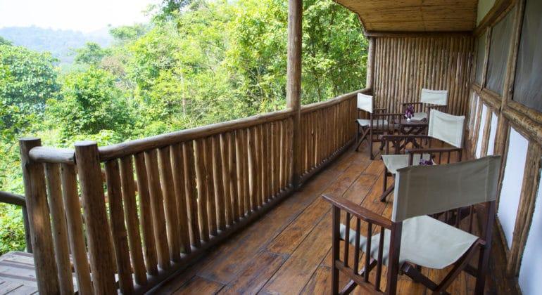 Buhoma Lodge Deck
