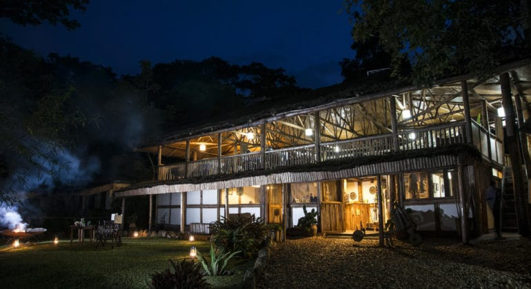 Buhoma Lodge Lounge Area