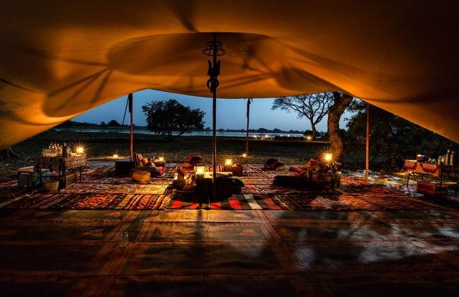 Camp Nomade Lounge