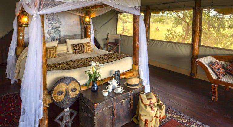 Campi Ya Kanzi Bedroom