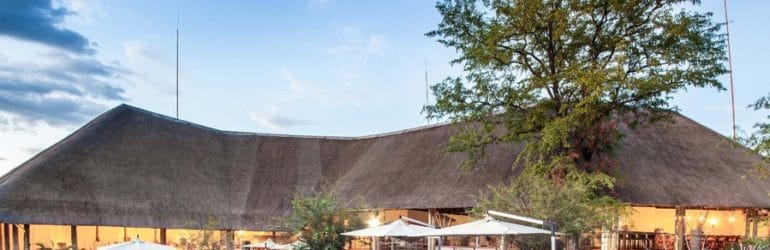Chobe Bush Lodge Main Area