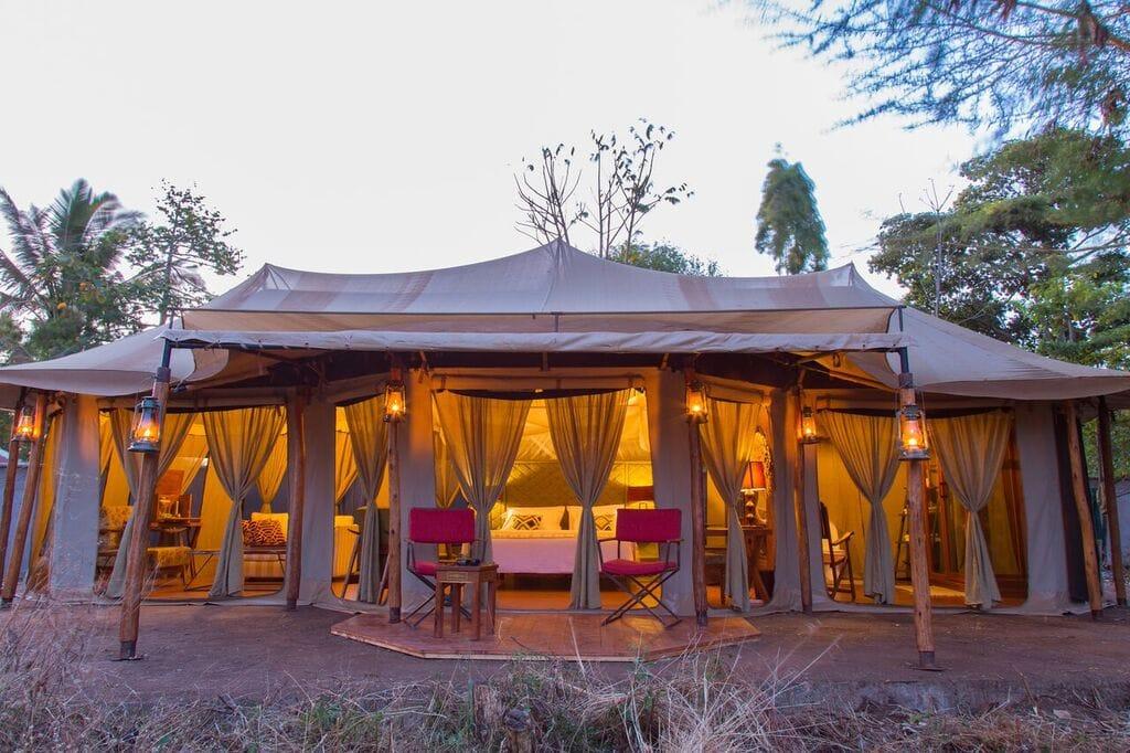 Ehlane Plains Camp Tent Front View