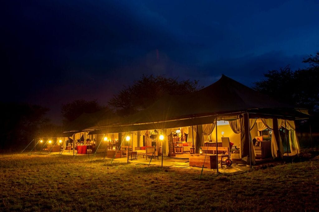 Kaskaz Mara Camp Tent View