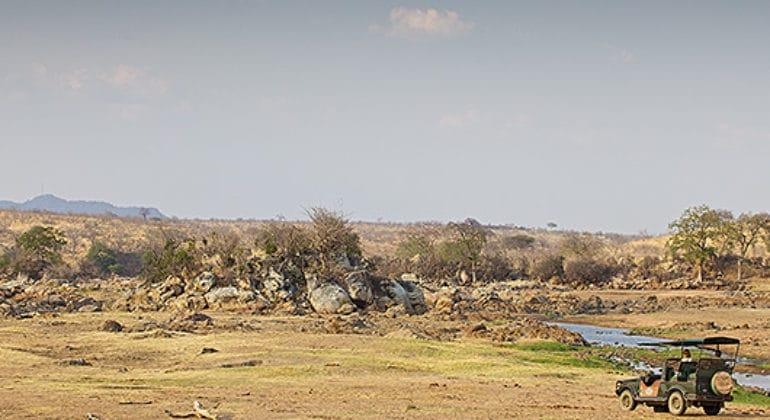 Katavi Wildlife Camp View