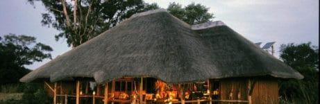 Kwando Lebala Camp Bridge To Lounge