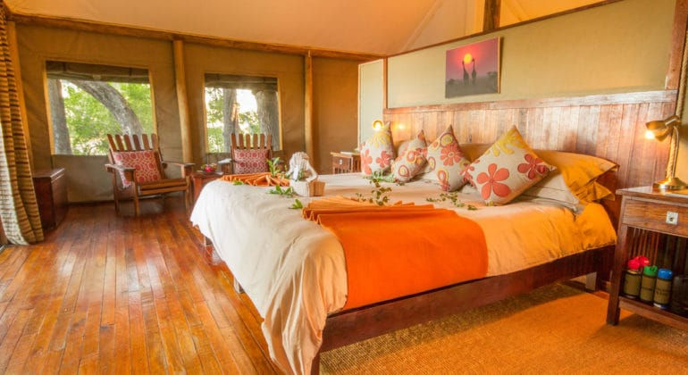Kwando Little Kwara Camp Bedroom